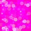 Pink Blurred Light Background. Abstract Light Pattern