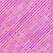 Pink Diagonal Texture. Abstract Pink Brick Background