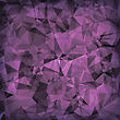 Pink Polygonal Background. Pink Crystal Triangle Pattern