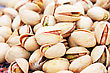 Pistachios Close Up Picture. stock photography
