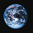 Planet Earth Viewed From Space stock photography