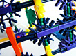Plastic Construction Toy stock photography