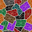 Playing Cards Deck Pattern, Abstract Seamless Texture