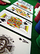 Poker Cards - Royal Flush stock photo