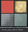 Polka Dots Backgrounds Collection. VEctor, EPS10