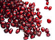 Lush Pomegranates Seeds As Background stock photography