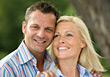 Portrait of Happy Mature Couple stock photo