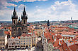 Prague City, One Of The Most Beautiful City In Europe stock photography