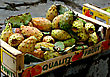 Prickly Pear, Cactus Fruit, Ready For Selling In Crate