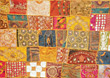Quilt stock image