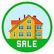 Real Estate Vector Illustration On White Background
