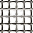 Rebars, Reinforcement Steel Isolated On White Background. Construction Metal Armature