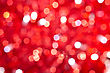 red bokeh lights background stock image
