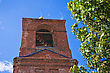 Orthodoxy Red Brick Bell-tower Of A Church, Russia stock image
