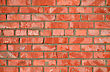 Red Brick Wall - Architectural Background Texture stock photo