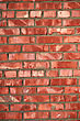 Red Brick Wall - Architectural Background Texture stock image