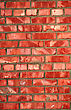 Red Brick Wall - Architectural Background Texture stock photography