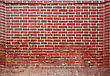 red brick wall texture background stock photography