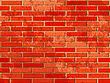 Red Brick Wall. Vector Illustration With Noise Textures