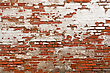 red brick with plaster background texture stock photo