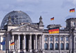 Reichstag, Berlin, Germany stock image