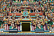 Ganesha Relief Of Menakshi Temple, Madurai, Tamil Nadu, India stock photography