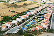 Residential Area In Cyprus. stock image