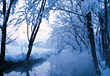 Winter Photos River In Winter Landscape stock photography