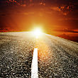 Road To The Sun, Abstract Travel Backgrounds
