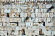 Judaism Rocks Of The Wailing Wall Close Up In Jerusalem, Israel stock image