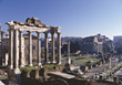 Rome, Forum Romano, Italy stock photography