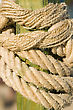 Rope Knot Close-up stock photo