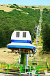 Ropeway In Mountain City Jermuk, Armenia.