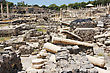 Ruins Of The Ancient Roman City Bet Shean, Israel