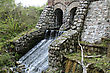 Ruins Of An Old Water-mill stock image