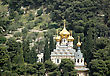 Tale Russian Church In Jerusalem,Israel stock photography