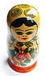 Craft Russian Doll stock photography