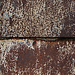 Rusty Square Background With Space For Text