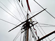 Sailboat Mast stock photo