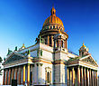 Saint Isaac's Cathedral In St Petersburg