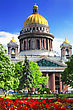 Orthodoxy Saint Isaac's Cathedral In St Petersburg stock image