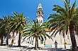 Saint Nikola Church In Perast, Kotor Harbor, Montenegro