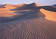 Sand Dunes in Death Valley, California, USA stock image