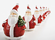 Santa Background stock photography