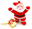 Santa Claus Doll stock photography