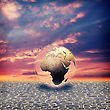Dramatic Save The Earth. Abstract Environmental Backgrounds For Your Design stock illustration