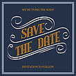 Save The Date, Illustrator Format Eps10