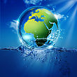 Save The World. Abstract Environmental Backgrounds For Your Design