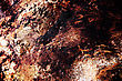 Scratched Metal Grunge Surface With Corrosion stock photography