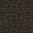 Seamless Abstract Text Pattern. Gold Text On Black Background. Can Be Used For Printing, Textiles , Greeting Cards , Clothing , Wallpaper , Computer Screensavers , Web And Applications